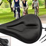 Lwd Vélo d'appartement Gel Coussin d'assise. doux durable Vélo Housse de siège Coussin, compatible avec pour Cruiser et vélos Vélo d'stationnaire rotatifs, VTT, vélo de route de la marque image 2 produit