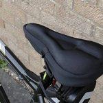 Lwd Vélo d'appartement Gel Coussin d'assise. doux durable Vélo Housse de siège Coussin, compatible avec pour Cruiser et vélos Vélo d'stationnaire rotatifs, VTT, vélo de route de la marque image 5 produit