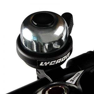 LYCAON Sonnette de vélo – Son clair Net puissant Vélo Bell pour scooter Cruiser Ebike Tricycle Montagne Vélo de route VTT BMX Vélo électrique de la marque image 0 produit