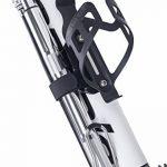 Mini pompe à vélo au sol, Super rapide, sécurisé de gonflage Presta et valve Schrader Connexion. Haute Pression Pompe à vélo avec pied de stabilisation Peg pour pneus, Route, VTT, hybride et de matièr de la marque image 6 produit