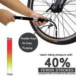 Mini pompe à vélo, légère et portable pour valves Presta et Schrader de la marque image 2 produit
