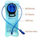 Miracol 2 Litres Hydratation de la Vessie Poche à Eau Réservoir d'eau pour Escalade Camping vélo de la marque image 1 produit