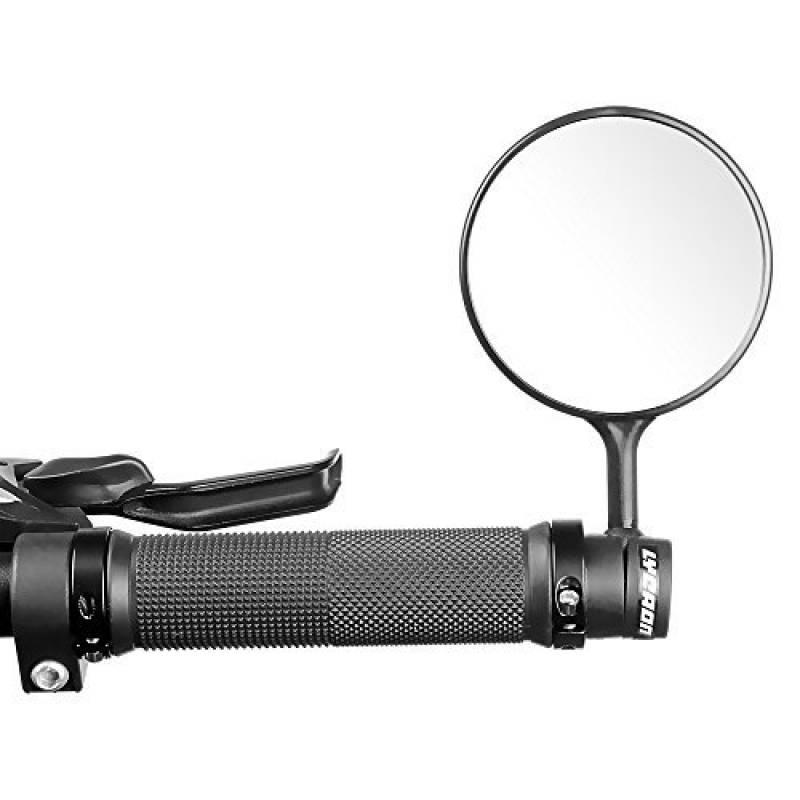 HINMAY Miroir de v/élo Rotatif et r/églable Grand Angle de Vue arri/ère Antichoc Convexe Universel pour v/élo v/élo /électrique Moto