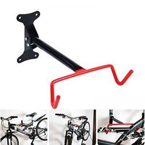 Mise à niveau Cycling Bike Storage Garage Boîtier rack Hanger Support Crochet en acier pour vélo vélo support mural de la marque image 0 produit