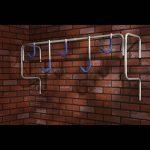 Mottez Porte-vélos mural pour 5 vélos de la marque image 1 produit