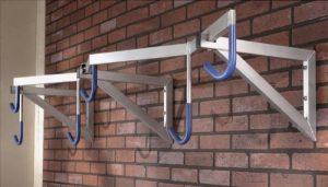 Mottez Range-vélos modèle pro 6 vélos Gris 200 x 35 x 55 cm de la marque image 0 produit