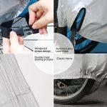 MYCARBON Housse pour Vélo / Housse de Pluie de Vélo, Couverture de Bicyclette Etanche à la Pluie, Poussière, Soleil etc - 200cm*70*cm*110cm de la marque image 2 produit