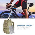 MYCARBON Housse pour Vélo / Housse de Pluie de Vélo, Couverture de Bicyclette Etanche à la Pluie, Poussière, Soleil etc - 200cm*70*cm*110cm de la marque image 5 produit