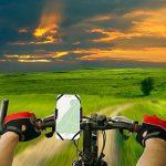 MYCARBON Support Vélo Guidon Universel Support Téléphone Moto Rotatif 360 Réglable pour iPhone 7/7 Plus 6s Plus, Samsung Galaxy S8/S7, Huawei, Appareils GPS (tous les appareils à largeur de 5 à 9.5cm) de la marque image 1 produit