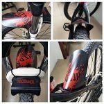 Nicedack Vélo Fender–2+ 1pièce de montagne Garde-boue VTT Garde-boue avant et arrière pour vélo BMX de la marque image 4 produit