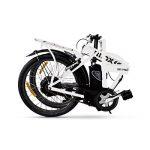 Nilox velo electrique pliable adulte DOC X1, Vitesses de 25 Km/h , Blanc, Taille One Sizeque de la marque image 2 produit