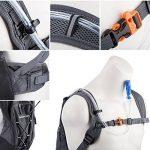 Overmont Sac à dos d'hydratation avec poche à eau 2L TPU pour cyclisme, randonnée, Running etc. de la marque image 6 produit