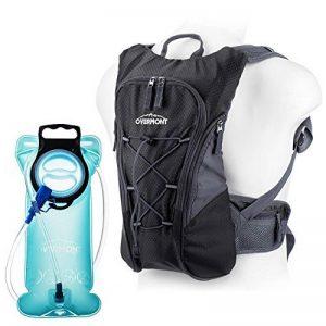 Overmont Sac à dos d'hydratation avec poche à eau 2L TPU pour cyclisme, randonnée, Running etc. de la marque image 0 produit