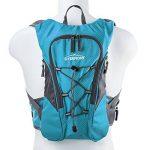 Overmont Sac à dos d'hydratation avec poche à eau 2L TPU pour cyclisme, randonnée, Running etc. de la marque image 1 produit