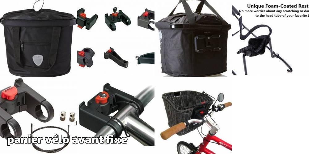 Panier vélo avant fixe    le top 9 pour 2019   Vélo Top 308bcb2afd3