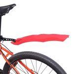 Pare-boue Avant Et Arrière Inusable Bande De Protection De Pneu Pour Vélo Bicross Avec LED Feu Arrière (4 Couleurs Optionnelles) de la marque image 1 produit