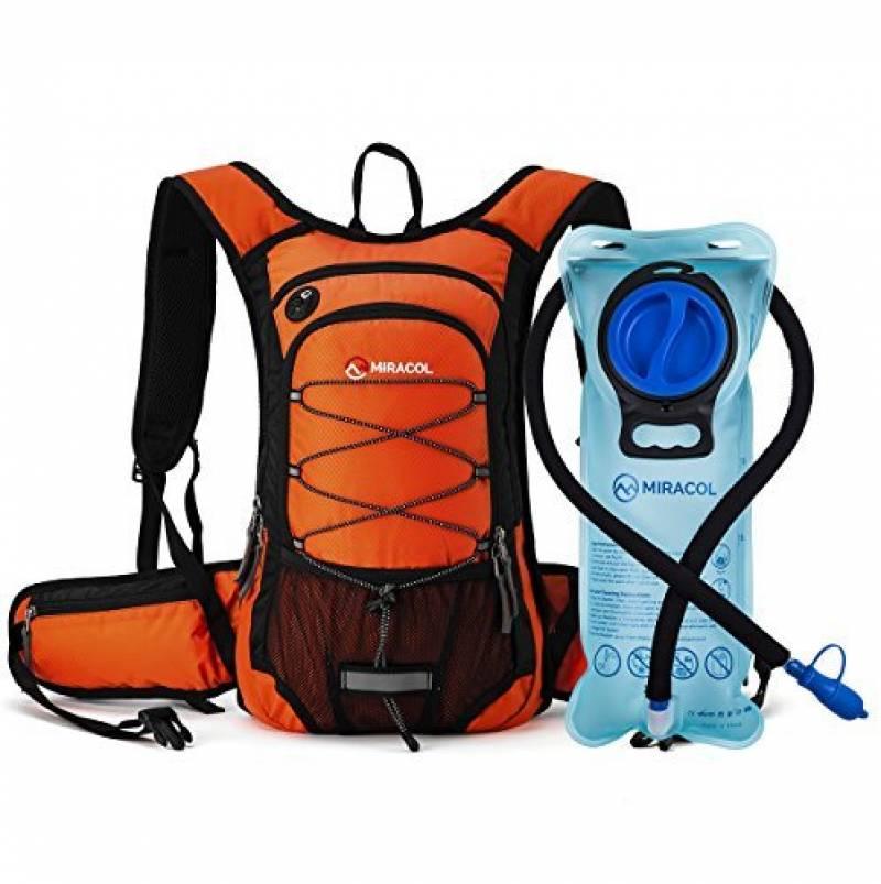 Léger bisphenol A Free Thermal Isolé Hydratation Sac à dos w 2 l vessie bleu