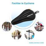 Poweradd Selle siège de vélo en gel coussin de vélo sur la route extrêmement doux et confortable pour le cyclisme et bicyclette extérieur de la marque image 5 produit