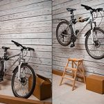 Powerfly Pied de Réparation Vélo - VVT Mural Portable Pliable Accrocher - d'Atelier pour Vélo Maintenance Réparation Support avec Agrafe de Réglage Rapide pour Cadre de Vélo de la marque image 3 produit