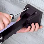 Powerfly Pied de Réparation Vélo - VVT Mural Portable Pliable Accrocher - d'Atelier pour Vélo Maintenance Réparation Support avec Agrafe de Réglage Rapide pour Cadre de Vélo de la marque image 4 produit