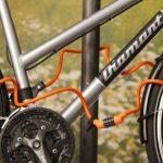 Profex 65873 Câble antivol spirale Soft Noir/Vert/orange de la marque image 3 produit