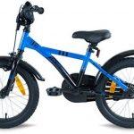 """PROMETHEUS Vélo enfant pour fils 16 pouces en bleu & noir avec petites roues   Frein à tirage et frein à rétropédalage   à partir de 5 ans   16"""" BMX Edition 2017 de la marque image 5 produit"""