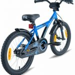 """PROMETHEUS Vélo enfant pour fils 16 pouces en bleu & noir avec petites roues   Frein à tirage et frein à rétropédalage   à partir de 5 ans   16"""" BMX Edition 2017 de la marque image 6 produit"""