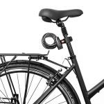Provelo - Antivol / Cadenas pour Vélo - Câble en spirale - Noir - Longueur 150cm (1,5m) - Support d'accroche inclus - Sûr, pratique et efficace ! de la marque image 5 produit