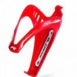 Raceone.it - KIT Race Duo X3 Matt (2 PCS): Porte-bidon de Vélo X3 + Bidon de Vélo XR1 Support Porte Bouteille. Bidon de Ciclisme VTT/ Vélo de Route / MTB / Gravel Bike Coleur: rouge / Blanc 100% MADE IN ITALY de la marque image 1 produit
