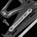 Raceone.it - KIT Race Duo X3 Rubberized (2 PCS): Porte-bidon de Vélo X3 + Bidon de Vélo XR1 Support Porte Bouteille. Bidon de Ciclisme VTT/ Vélo de Route / MTB / Gravel Bike Coleur: Vert / Noir 100% MADE IN ITALY de la marque image 3 produit