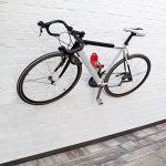 Relaxdays Porte-vélo pédale range-vélo pédale fixation murale Accroche-pédale support VTT pratique garage cave, rouge de la marque image 1 produit