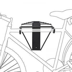 Relaxdays Support de vélo mural pliable Noir de la marque image 0 produit