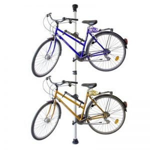 Relaxdays Support de vélo télescopique pour 2 vélos réglable 160-340 cm de la marque image 0 produit
