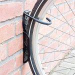 Relaxdays Support mural pour vélo 2 pièces Noir de la marque image 1 produit