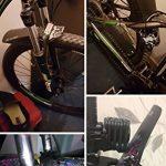 RICH BIT Déambulateur gratuit visage Ailes PE Plus léger VTT Fourche avant Pneu arrière Garde-boue type de vélo de montagne BMX Racing Touring pour vélo de route de la marque image 5 produit