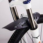 RICH BIT Déambulateur gratuit visage Ailes PE Plus léger VTT Fourche avant Pneu arrière Garde-boue type de vélo de montagne BMX Racing Touring pour vélo de route de la marque image 2 produit