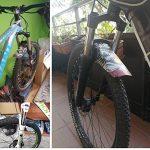 RICH BIT Déambulateur gratuit visage Ailes PE Plus léger VTT Fourche avant Pneu arrière Garde-boue type de vélo de montagne BMX Racing Touring pour vélo de route de la marque image 6 produit