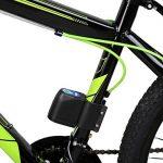 Runacc Vélo Alarme antivol pour vélo Alarme durable Cyclisme Verrou de sécurité avec télécommande de la marque image 2 produit