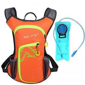 Sac d'hydratation 12L avec poche à eau de 2L Rullaco - Sac étanche pour le camping, la randonnée, la course, le cyclisme, le trekking - Unisexe de la marque image 0 produit