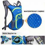 Sac d'hydratation 12L avec poche à eau de 2L Rullaco - Sac étanche pour le camping, la randonnée, la course, le cyclisme, le trekking - Unisexe de la marque image 5 produit