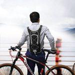 Sac Hydratation avec Poche à Eau 2L DeFe Sac a Dos Running Ultraléger Sac Trail Respirant pour Cyclisme Randonnée Vélo Course de la marque image 4 produit