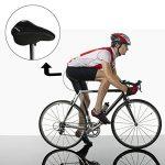 Selle Siège de Vélo - Bicyclette Coussin Gel Confortable Sportif Souple Cyclisme VTT Montagne Route(Noir) - Vendu Par IntiPal de la marque image 2 produit