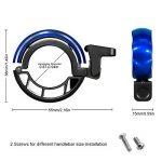 Sonnette de vélo IREGRO Mini Bike Bell avec Clear Sound UP à 90DB vélo Bell Fit pour guidon de vélo route VTT (diamètre 0.87-0.94in) de la marque image 1 produit