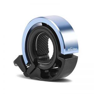Sonnette de vélo Bike Bell Aluminium, Wrcibo Sonnette de Cyclisme Q Design invisible pour guidon 24 - 31,8mm Élégante accessoires durable Vélo Bell de la marque image 0 produit