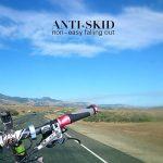 Sonnette de vélo Bike Bell Aluminium, Wrcibo Sonnette de Cyclisme Q Design invisible pour guidon 24 - 31,8mm Élégante accessoires durable Vélo Bell de la marque image 3 produit