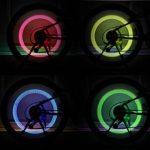 Stonges Lot de 30Flash LED Roue de pneu Bouchon de valve pour voiture ou vélo Roue pneu de lumière (Rouge, Jaune, Bleu, Vert, mixte) de la marque image 4 produit