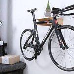 Support mural pour vélo Berlin en bois - Pour accrocher le vélo - Dans différentes couleurs de la marque image 6 produit