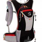 Tanluhu Sac à dos étanche Sac Hydratation respirant 15L pour cyclisme Randonnée Alpinisme Camping Escalade de la marque image 2 produit