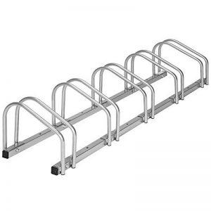 TecTake Râtelier range-vélo pour vélos   en acier revêtu - diverses modèles - de la marque image 0 produit