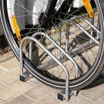 TecTake Râtelier range-vélo pour vélos | en acier revêtu - diverses modèles - de la marque image 1 produit